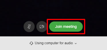 WebEx Browser Join Meeting